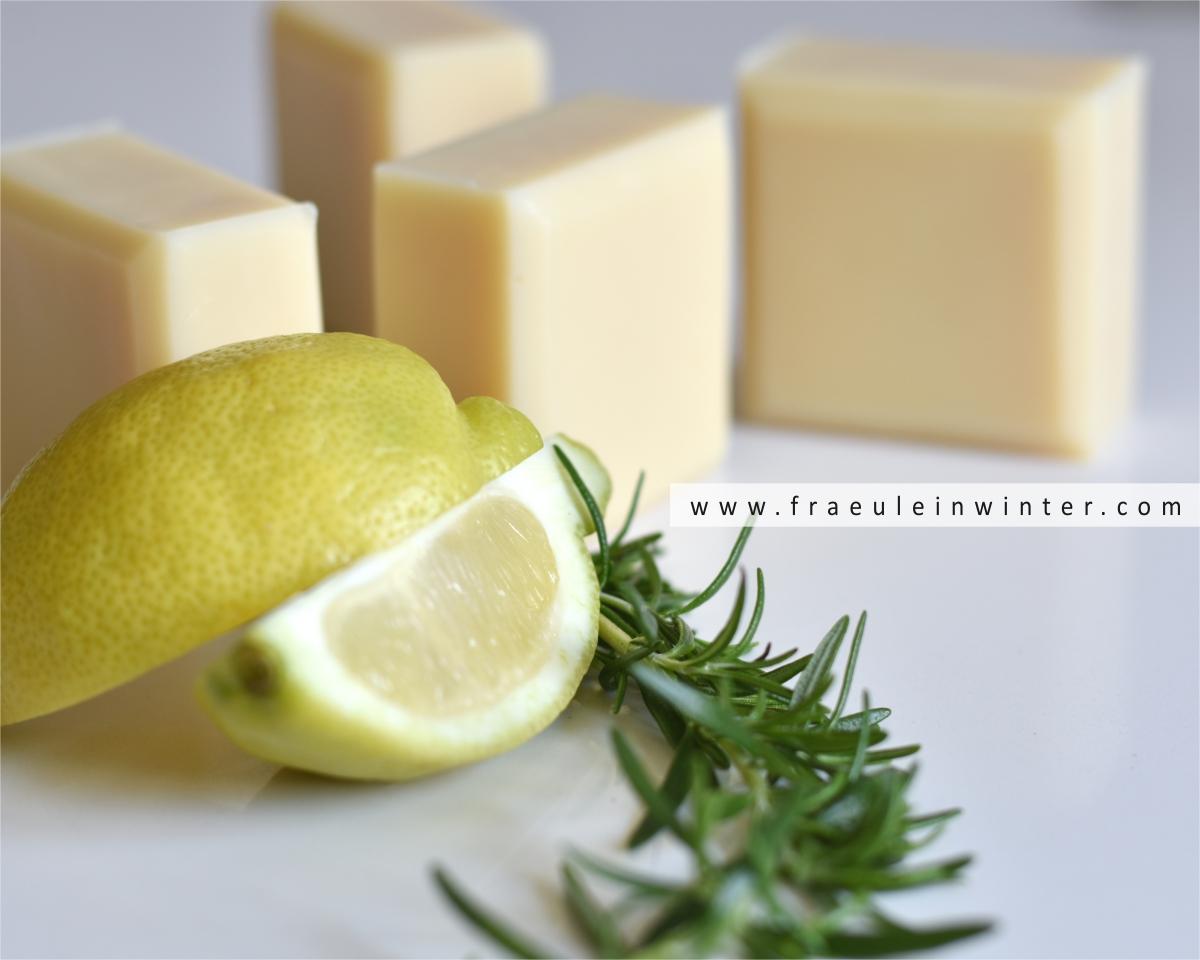 Erfrischende Seife für eine kleine Sommerfrische beim Duschen.