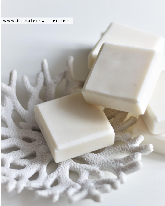 Salzseife zur Hautreinigung