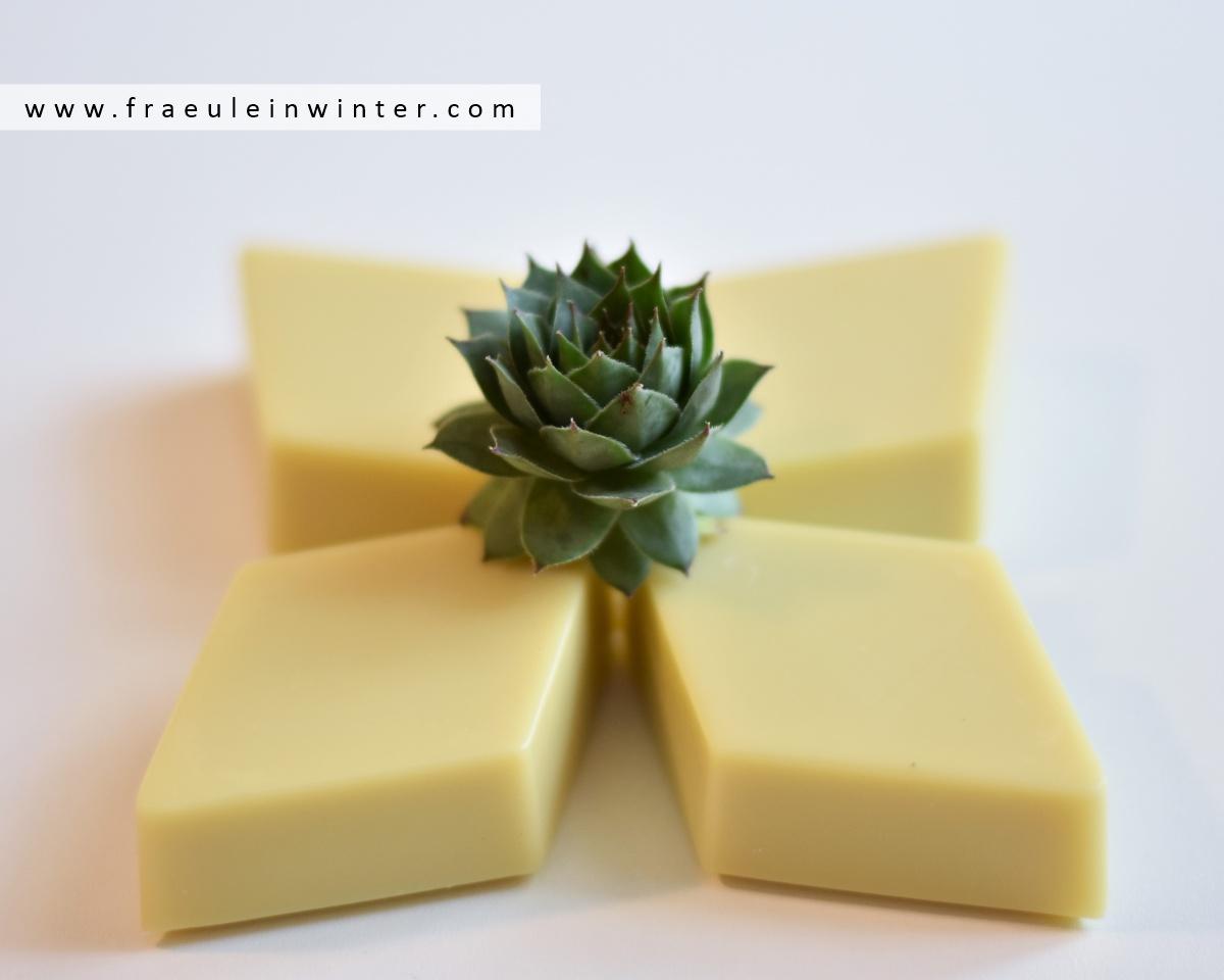 Sempervivum - Seife mit Hauswurz