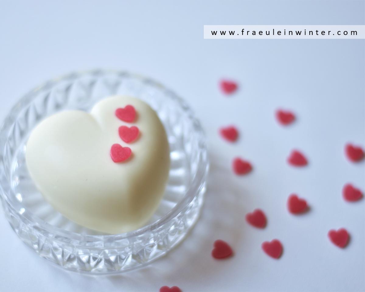 Herzige Rosen-Milchseife