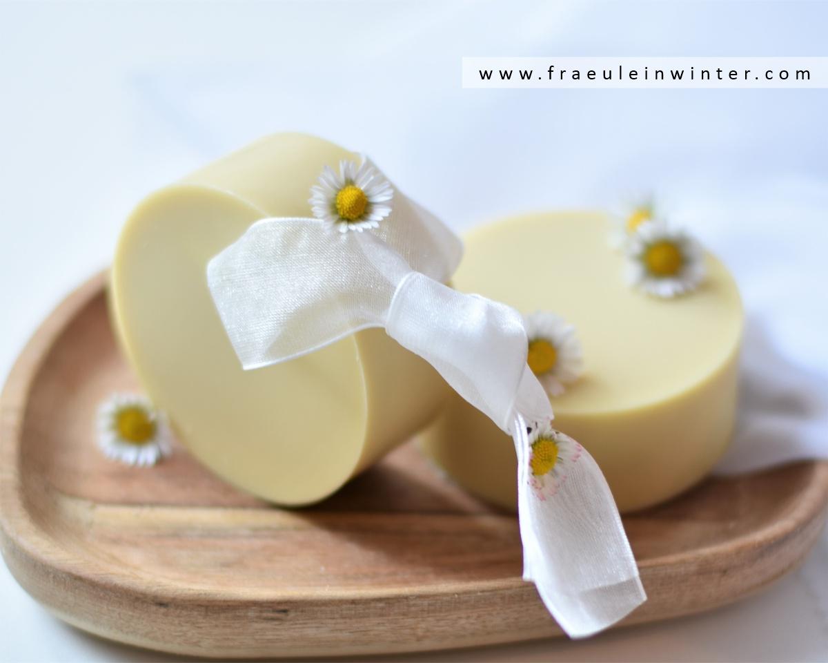Seife mit Gänseblümchen