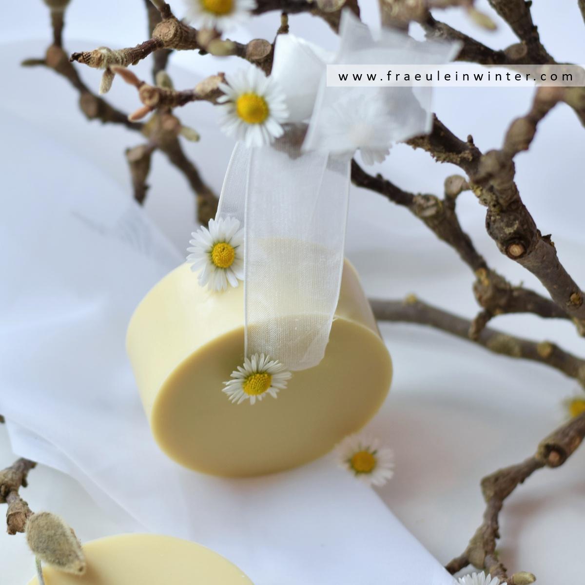 Gänseblümchen als Seifenzusatz